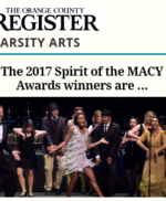 OC Register Varsity Arts recognizes Spirit of the MACY Awards winners